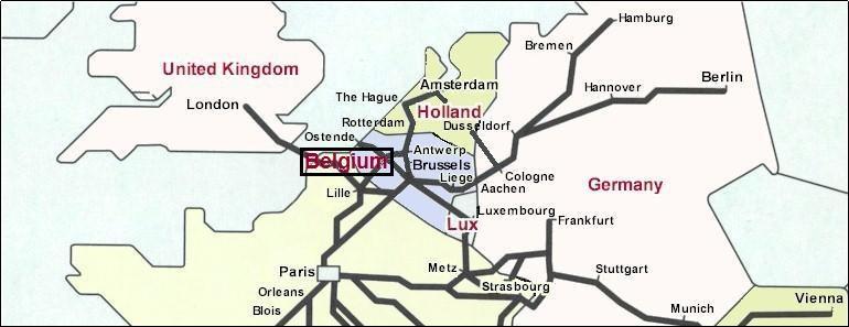 belgium railways network