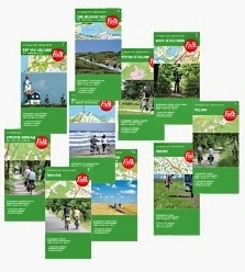 Denmark cycling maps