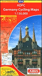 Germany cycling maps